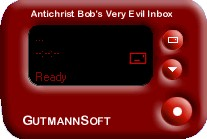 Antichrist Bob's Very Evil Inbox by Antichrist Bob